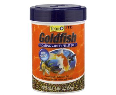 Alimento peces goldfish, floating food fish